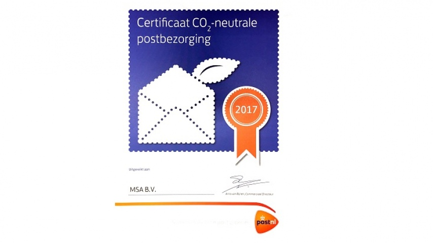 CO2-neutrale postbezorging